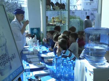 24 марта компания «Айсберг» приняла участие в празднике «День водных ресурсов – 2017», организованном Музеем Мирового океана.